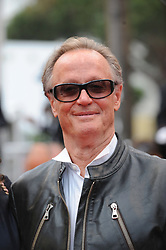 File photo - Peter Fonda arriving for the screening of the film 'La Conquete' (The Conquest) presented out of competition as part of the 64th Cannes International Film Festival, at the Palais des Festivals in Cannes, southern France on May 18, 2011. Peter Fonda, the star, co-writer and producer of the 1969 cult classic Easy Rider, has died at the age of 79. Peter Fonda was part of a veteran Hollywood family. As well as being the brother of Jane Fonda, he was also the son of actor Henry Fonda, and father to Bridget, also an actor. Photo by Ammar Abd Rabbo/ABACAPRESS.COM