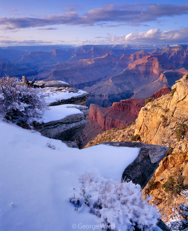 The Abyss, along the South Rim, Grand Canyon National Park, Arizona