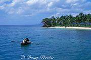 fishing boat, Samana Bay, Dominican Republic ( Caribbean Sea )