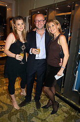 Left to right, HARRIET RICHARDSON, SEBASTIAN SAINSBURY and KAREN RICHARDSON at a party to celebrate the publication of Bebe Blue and the Evil Gangsta Rappers by Ashley Hicks, held at 28 Cadogan Place, London SW1 on 15th November 2006.<br /><br />NON EXCLUSIVE - WORLD RIGHTS