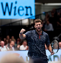 30.10.2016, Stadthalle, Wien, AUT, ATP Tour, Erste Bank Open, Finale, Doppel, im Bild Fabrice Martin (FRA) // Fabrice Martin of France reacts during the doubles final match of Erste Bank Open of ATP Tour at the Stadthalle in Vienna, Austria on 2016/10/30. EXPA Pictures © 2016, PhotoCredit: EXPA/ Sebastian Pucher