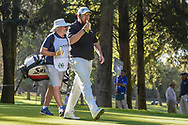 Shane Lowry (IRL) eats a banana as he heads down 5 during round 1 of the World Golf Championships, Mexico, Club De Golf Chapultepec, Mexico City, Mexico. 2/21/2019.<br /> Picture: Golffile | Ken Murray<br /> <br /> <br /> All photo usage must carry mandatory copyright credit (© Golffile | Ken Murray)