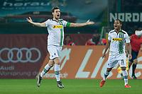 BILDET INNGÅR IKEK I FASTAVTALER. ALL NEDLASTING BLIR FAKTURERT.<br /> <br /> Fotball<br /> Tyskland<br /> Foto: imago/Digitalsport<br /> NORWAY ONLY<br /> <br /> Sonntag 20.12.2015, 1. Bundesliga, Saison 2015/2016, 17. Spieltag in Moenchengladbach, Borussia Moenchengladbach - SV Darmstadt 98, Håvard Nordtveit (Gladbach) jubelt nach seinem treffer zum 2:1