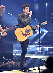 May 25, 2018 - DüSseldorf, Germany - Musician Shawn Mendes performs during the final of Germany's Next Top Model at the ISS Dome on May 24 2018 in Düsseldorf, Germany..IBy Line: Famous/ACE Pictures...ACE Pictures Inc. (Credit Image: © Famous/Ace Pictures via ZUMA Press)