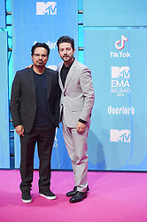 November 4, 2018 - Madrid, Madrid, Spain - DDiego Luna, Michael Peña attends the 25th MTV EMAs 2018 held at Bilbao Exhibition Centre 'BEC' on November 4, 2018 in Madrid, Spain (Credit Image: © Jack Abuin/ZUMA Wire)