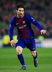 Lionel Messi of Barcelona - Mandatory by-line: Matt McNulty/JMP - 14/03/2018 - FOOTBALL - Camp Nou - Barcelona, Catalonia - Barcelona v Chelsea - UEFA Champions League - Round of 16 Second Leg