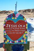 Salvation Mountain Historical Landmark in California