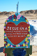 Salvation Mountain Historical Landmark in California