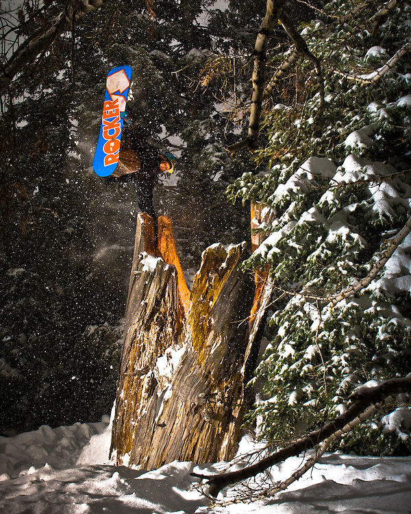 Pat Milbery shot for Capix helmets at Mt. High in Wrightwood, California.
