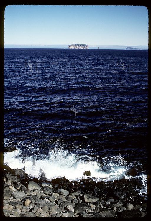 Drangey Isle, Grettir's final refuge, sits like fortress off Reykjastrond shore in Skagafjord Iceland