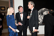 LADY JUDGE; SIR JOHN MADESJSKI; SIR MARK JONES, Royal Academy of Arts Annual dinner. Royal Academy. Piccadilly. London. 1 June <br /> <br />  , -DO NOT ARCHIVE-© Copyright Photograph by Dafydd Jones. 248 Clapham Rd. London SW9 0PZ. Tel 0207 820 0771. www.dafjones.com.