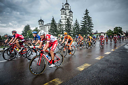 Peloton in Odranci during 1st Stage of 25th Tour de Slovenie 2018 cycling race between Lendava and Murska Sobota (159 km), on June 13, 2018 in  Slovenia. Photo by Vid Ponikvar / Sportida