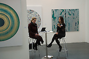 VALERIE DILLON; DIANA LEE, DILLON GALLERY, Opening of ART15, Olympia, London. 20 May 2015
