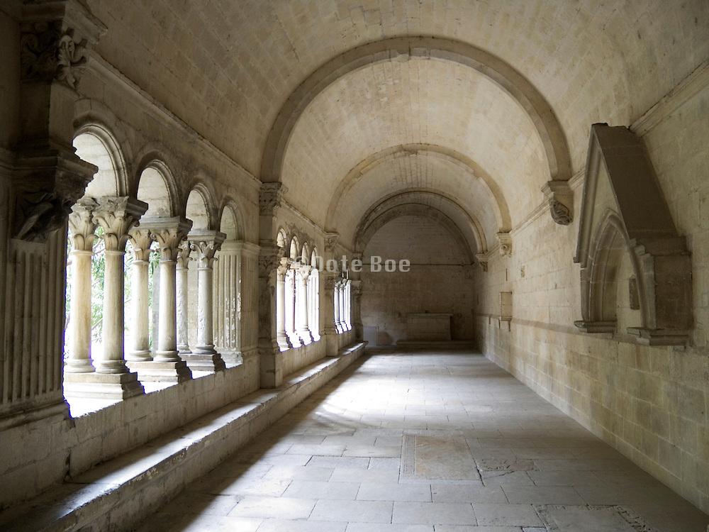 Cloister hall France Arles