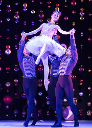 Scottish Ballet opens its tour of the festive ballet, The Nutcracker, in Edinburgh on 9 December until 30th January before it moves to  Glasgow, Aberdeen, Inverness and Newcastle.<br /> <br /> Pictured: Bethany Kingsley-Garner as The Sugar Plum Fairy