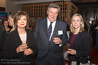 (l to r) Helen O'Dowd, Don O'Dowd, and Patricia Greene (Volvo Cars Ireland) attending the official launch of Volvo Dún Laoghaire Regatta 2017 in the National Maritime Museum of Ireland on Wednesday evening. The Regatta will be among the biggest mass-participatory sporting event in Ireland this year (eclipsed for numbers only by the city marathons).