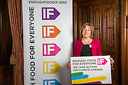 Baroness Northover supporting the Enough Food for Everyone?IF campaign. .MP's and Peers attended the parliamentary launch of the IF campaign in the State Rooms of Speakers House, Palace of Westminster. London, UK.