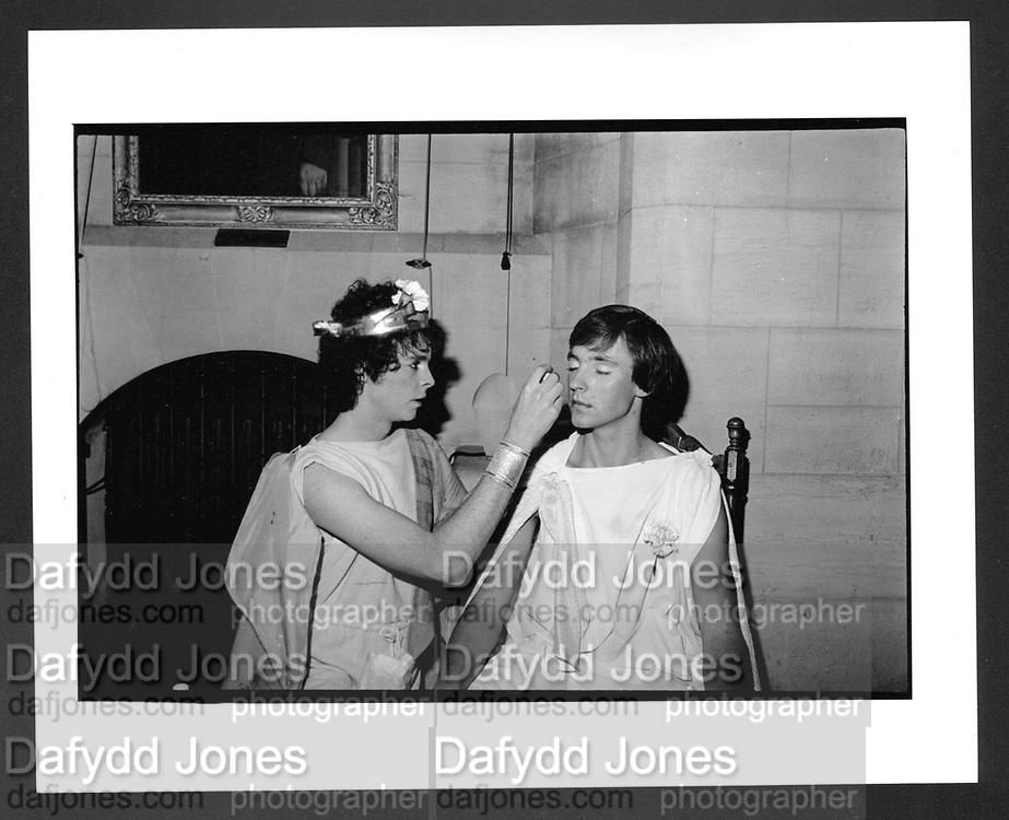 John Seidler, Piers galveston parties, Oxford. 1980