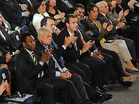 20110730: RIO DE JANEIRO, BRAZIL - Brazilian football legend Pele Qualification draw for the 2014 World Cup held at the Marina da Gloria in Rio<br /> PHOTO: CITYFILES