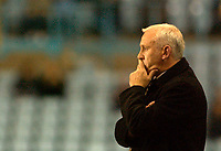 Photo. Glyn Thomas. Digitalsport<br /> Coventry City v Sheffield Wednesday. <br /> Carling Cup Second Round. 22/09/2004.<br /> Coventry manager Peter Reid ponders his options.
