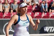 Mona Barthel during the 2019 Swedish Open in Båstad on July 11, 2019. Photo Credit: Katja Boll/EVENTMEDIA.