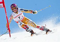 20.03.2011, Pista Silvano Beltrametti, Lenzerheide, SUI, FIS Ski Worldcup, Finale, Lenzerheide, NATIONEN TEAM EVENT, im Bild Marie Michele Gagnon (CAN) // during Nations Team Event, at Pista Silvano Beltrametti, in Lenzerheide, Switzerland, 20/03/2011, EXPA Pictures © 2011, PhotoCredit: EXPA/ J. Feichter