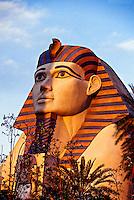 Sphinx, Luxor hotel and casino, Las Vegas Boulevard (The Strip), Las Vegas, Nevada USA