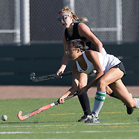 Los Gatos vs Homestead in a BVAL Girls Field Hockey Game at Homestead High School, Cupertino CA on 10/4/17. (William Gerth/Max Preps)