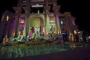 USA, Nevada, Las Vegas, Night photography the Forum
