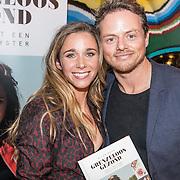 """NLD/Amsterdam/20161031 - Boekpresentatie Ellen Hoog """"Grenzeloos Gezond"""", Ellen en partner Kelvin de Lang"""