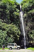 Tahiti Safari Expeditions, Vaihuaruru Waterfall, Tahiti, French Polynesia<br />