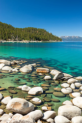 """""""Boulders at Lake Tahoe 45"""" - These boulders were photographed on the East shore of Lake Tahoe."""