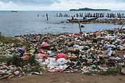 Trash<br /> Sorong Fish Market<br /> Bos Wesen Market<br /> Sorong<br /> West Papua<br /> Indonesia