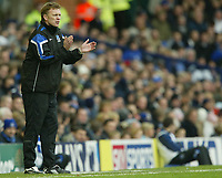Photo: Aidan Ellis.<br /> Everton v Newcastle. The Barclays Premiership.<br /> 27/11/2005.<br /> Everton manager David Moyes