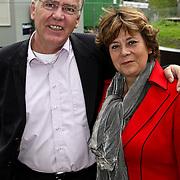 NLD/Amsterdam/20081005 - Première Sinterklaas en het Geheim van het Grote Boek, Rita Verdonk en partner Peter Willems