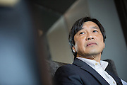 Bill Ng talks about local manufacturing during the Silicon Valley Business Journal Power of Manufacturing Breakfast at the Silicon Valley Capital Club in San Jose, California, on January 24, 2017. (Stan Olszewski for Silicon Valley Business Journal)