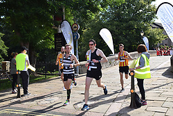 Norwich UK. 6th August 2017. 6000 people took part in the annual Run Norwich 10k road race organised by Norwich City FC Community Sports Foundation.