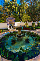 Getty Villa, Pacific Palisades (near Malibu), California USA. It is modeled after a first-century Roman country house, the Villa dei Papiri in Herculaneum, Italy.