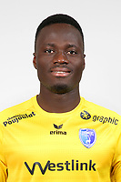Saturnin Allagbe during Photoshooting of Niort for new season 2017/2018 on September 12, 2017 in Niort, France. <br /> Photo : CNFC / Icon Sport