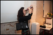 HELEN DAVID, KALEIDOSCOPE edition by  Yinka Shonibare-MBE  studio launch, Multiple Store,  Dalston,  2 October 2014.