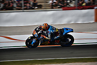 Qualifiying in a championship of motorcycling GP of Valencia in Spain 2017 in Ricardo Tormo Circuit. Day two.
