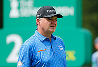 Golf - 2019 Senior Open Championship at Royal Lytham & St Annes - First Round <br /> <br /> Paul Lawrie (SCO) watches his drive off the 2nd tee.<br /> <br /> COLORSPORT/ALAN MARTIN
