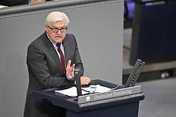 26.05.2011, Bundestag, Berlin, GER, Regierungserklärung zum G8-Gipfel, im Bild  Frank-Walter Steinmeier ( MdB Fraktionsvorsitzende der SPD )   EXPA Pictures © 2011, PhotoCredit: EXPA/ nph/  Hammes       ****** out of GER / SWE / CRO  / BEL ******