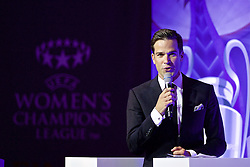 CARDIFF, WALES - Wednesday, August 31, 2016: Gethin Jones during a gala dinner at the Cardiff Museum to launch the UEFA Champions League Finals 2017 to be held in Cardiff. (Pic by David Rawcliffe/Propaganda)