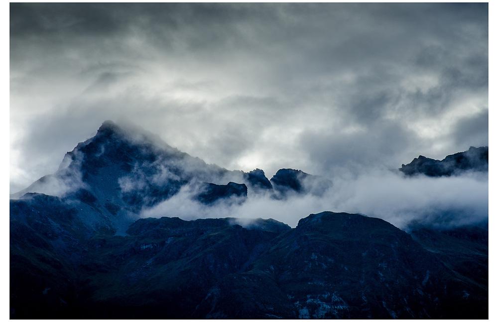 Humboldt Mountains, Glenorchy, Otago.
