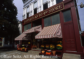 PA Historic Places, Leppert's Five and Dime Store, Square, Millersburg, Dauphin Co., Pennsylvania