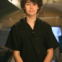 Cullum's ATTABOY food truck employee Stefan Scott, 18,