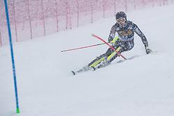Vidovic Matej (CRO) during the Audi FIS Alpine Ski World Cup Men's  Slalom at 60th Vitranc Cup 2021 on March 14, 2021 in Podkoren, Kranjska Gora, Slovenia Photo by Grega Valancic / Sportida