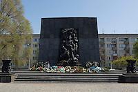 21 APR 2004, WARSAW/POLAND:<br /> Denkmal fuer das Warschauer Ghetto, Warschau, Polen<br /> IMAGE: 20040421-02-002<br /> KEYWORDS: Ghetto-Denkmal, Reise