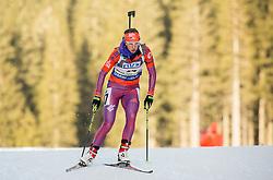 Annelies Cook (USA) competes during Women 7,5 km Sprint at day 2 of IBU Biathlon World Cup 2015/16 Pokljuka, on December 18, 2015 in Rudno polje, Pokljuka, Slovenia. Photo by Vid Ponikvar / Sportida
